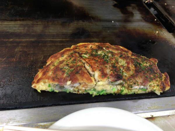カキオコ 牡蠣 お好み焼き