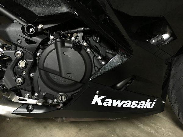 Ninja400 2018年 2018 EX400G インプレ