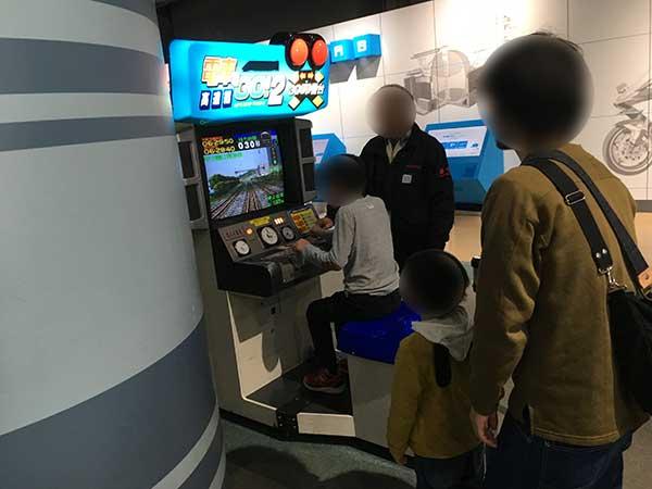 神戸 カワサキワールド 神戸海洋博物館 電車でGO!