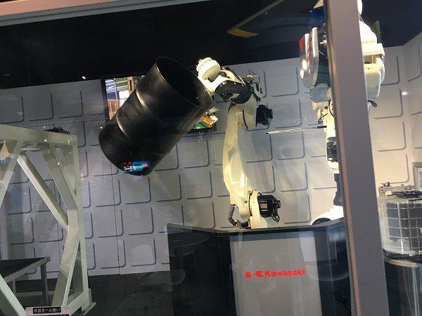 神戸 カワサキワールド 神戸海洋博物館 パフォーマンスロボット 2