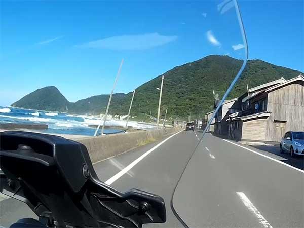 RACER900GT トレーサー ツーリング 京都 丹後 47
