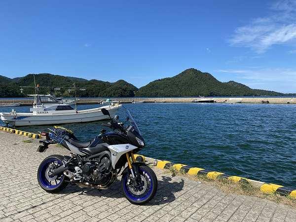 RACER900GT トレーサー ツーリング 京都 丹後 26
