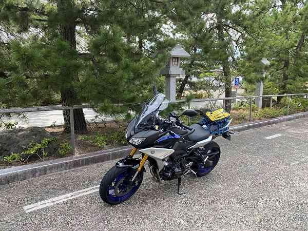 RACER900GT トレーサー ツーリング 京都 丹後 27