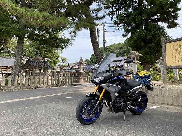 RACER900GT トレーサー ツーリング 京都 丹後 68